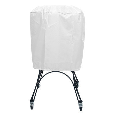 KoverRoos 13061 Weathermax X-Large Smoker Cover White - 24 Dia x 34 H in.