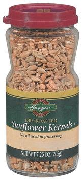 Haggen Dry Roasted Sunflower Kernels 7.25 Oz Jar