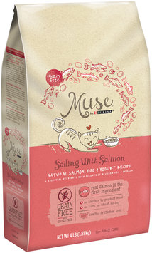 Muse by Purina Sailing With Salmon Natural Salmon, Egg & Yogurt Recipe Cat Food 4 lb. Bag