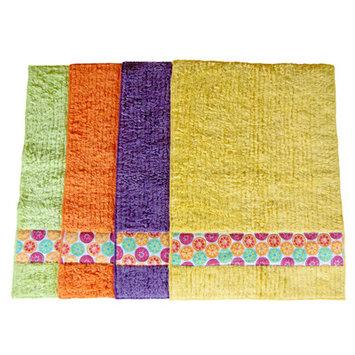 Janey Lynn's Designs Inc Shaggie Hand Towel Color: Orange Marmalade