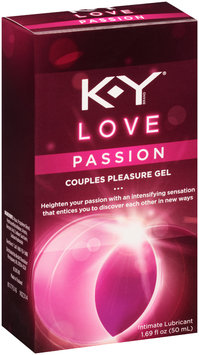 K-Y® Love Passion Couples Pleasure Gel Intimate Lubricant 1.69 fl. oz. Box