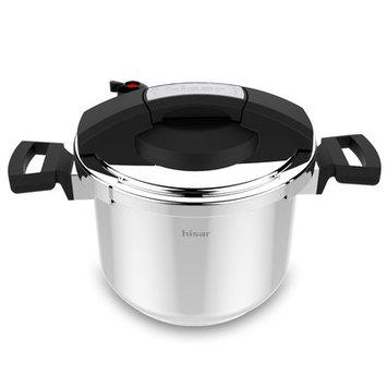 Hisr Neptun 6.3-Quart Pressure Cooker Color: Black