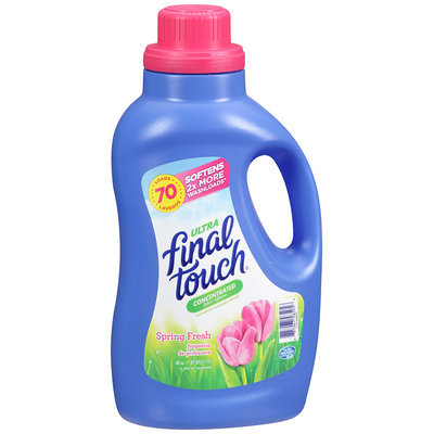 Final Touch® Liquid Ultra Concentrated Fabric Softener Spring Fresh 70 Loads 60 fl oz Jug