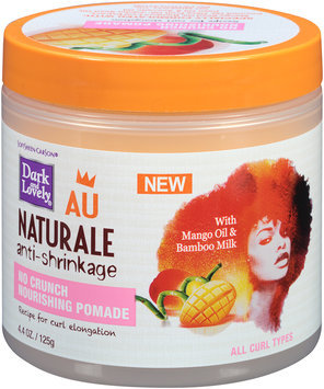 Dark and Lovely® Au Naturale No Crunch Nourishing Pomade for All Hair Types 4.4 oz. Jar