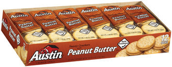 Austin Toasty W/Peanut Butter Cracker Sandwiches 16.5 Oz Box