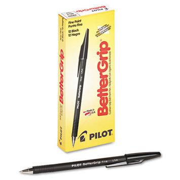 Pilot BetterGrip Ballpoint Stick Pens Ballpoint Pen, Medium Point