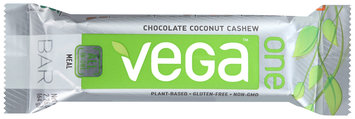 Vega™ One Chocolate Coconut Cashew Meal Bar 2.26 oz. Wrapper