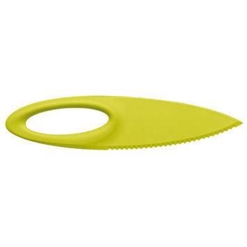 Koziol Sahsa Gourmet Kid Safe Knife, Green, Medium