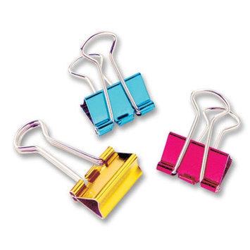 Baumgartens Metallic Colored Binder Clip