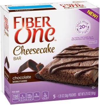 Fiber One Cheesecake Bars Chocolate