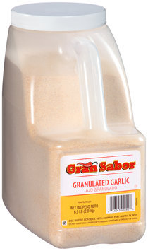 Gran Sabor Granulated Garlic 6.5 lb. Jug