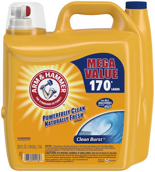 Arm & Hammer™ 2X Concentrated Clean Burst™ Liquid Laundry Detergent 255 fl. oz. Jug