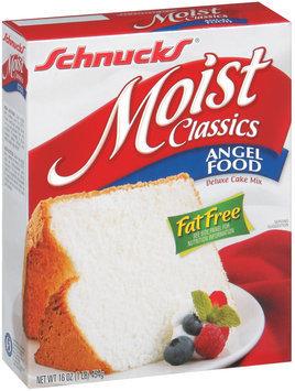 Schnucks Moist Classics Angel Food Deluxe Cake Mix 16 Oz Box
