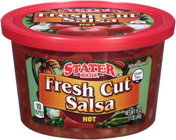 Stater Bros.® Hot Fresh Cut Salsa 16 oz. Tub