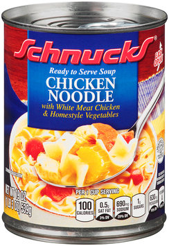 Schnucks® Ready to Serve Chicken Noodle Soup 19 oz. Can