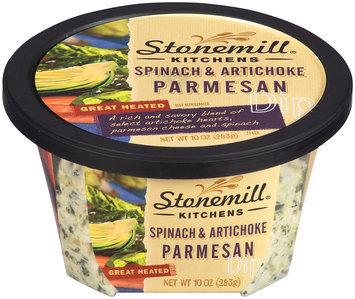 Stonemill Kitchens® Spinach & Artichoke Parmesan Dip 10 oz Plastic Container