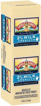 Land O'Lakes® Deli 2% Milk American White Cheese 5 Lb Loaf