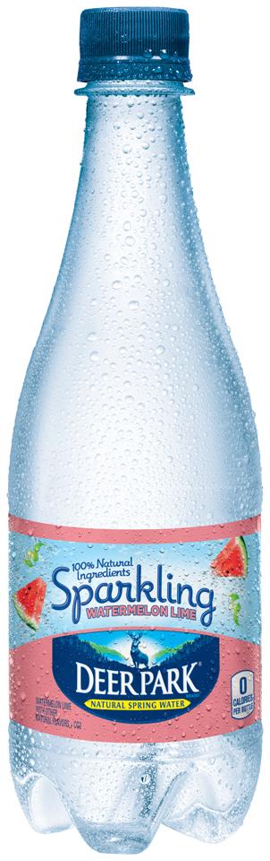 Deer Park® Sparkling Watermelon Lime Natural Spring Water