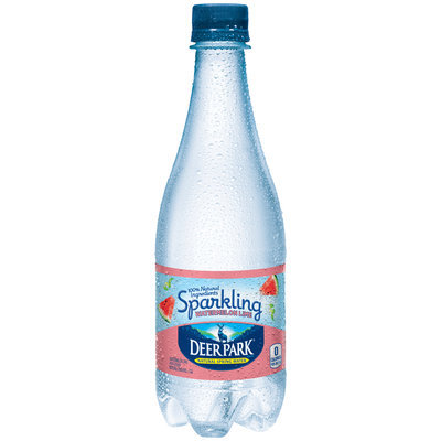 Deer Park® Sparkling Watermelon Lime Natural Spring Water