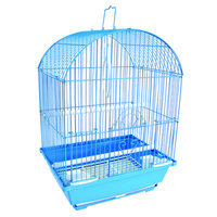 Yml Top Cage With Food Access Door Color: Blue