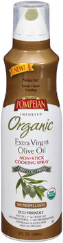 Pompeian® Organic Extra Virgin Olive Oil Non-Stick Cooking Spray 5 fl. oz. Aerosol Can