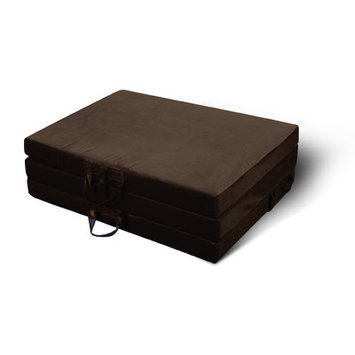 Jordan Manufacturing Tri-Fold Mat Color: Chocolate