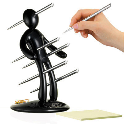 The EX By Raffaele Iannello Pen Set with Black Holder