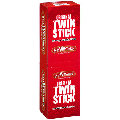 Old Wisconsin® Original Twin Stick Sausage Snack Sticks