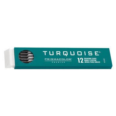 Sanford Prismacolor E2375-2B 2mm Turquoise Lead 2B