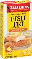 Zatarain's® Fish-Fri® Lemon Pepper Seafood Breading Mix 12 oz. Box