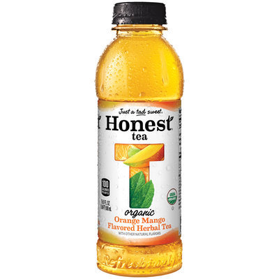 Honest® Tea Orange Mango Flavored Herbal Tea 16.9 fl. oz. Bottle