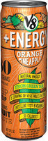 V8® +Energy Orange Pineapple Juice