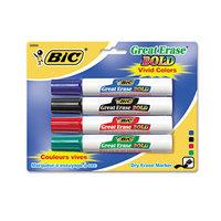 Mmvi BIC BIC Great Erase Bold Dry Erase Markers Chisel Tip