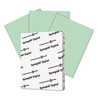 International Paper 045100 Digital Index Color Card Stock 90 Lbs. 8-1/2 X 11 Green 250 Sheets/pack