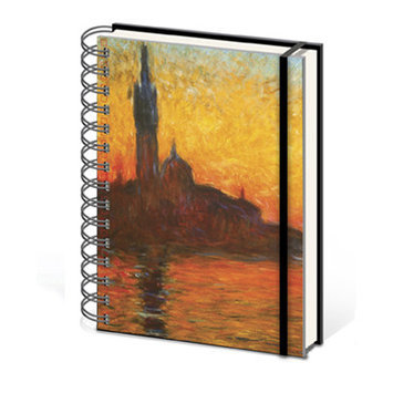 Ace Framing Monet Venice by Twilight A5 Notebook