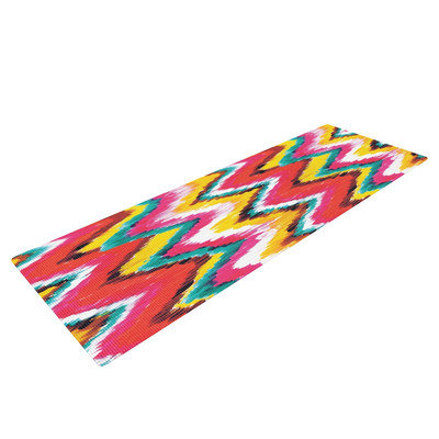 Kess Inhouse Painted Chevron by Aimee St. Hill Yoga Mat