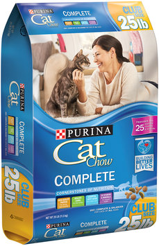 Purina Cat Chow Complete Cat Food 25 lb. Bag