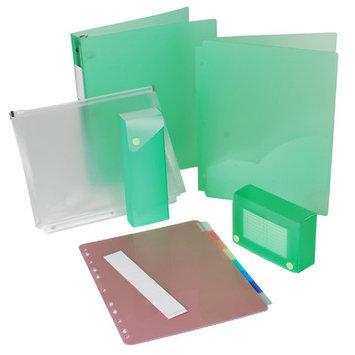 Filexec Back to School Binder Set - Lime
