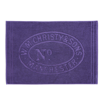 Christy Heritage Tub Mat, Thistle