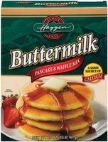 Haggen Buttermilk Pancake & Waffle Mix 32 Oz Box