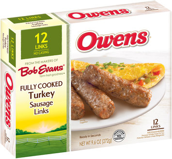 Owens® Fully Cooked Turkey Sausage Links 12 ct Box