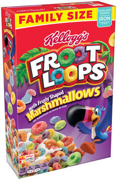 Kellogg's® Froot Loops® Sweetened Multi-Grain Cereal with Fruity Shaped Marshmallows