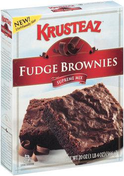 Krusteaz Supreme Fudge Brownie Mix 20 Oz Box