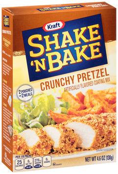 Kraft Shake 'n Bake Crunchy Pretzel Coating Mix 4.6 oz. Box