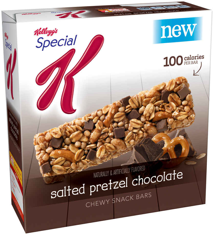 Kellogg's® Special K® Salted Pretzel Chocolate Snack Bars 6 ct Box