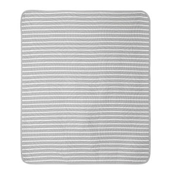 Cocalo Julian Trellis and Candy Stripe Crib Coverlet