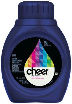 Cheer 2X Ultra Fresh Clean Scent Liquid Laundry Detergent 25 fl. oz. Bottle