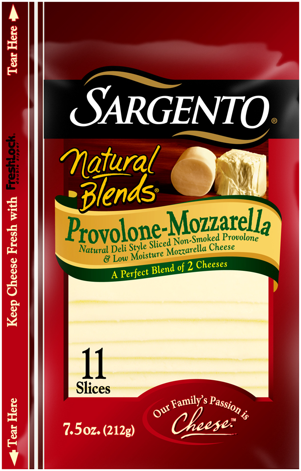 Sargento® Natural Blends® Provolone-Mozzarella Cheese
