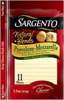 Sargento® Natural Blends® Provolone-Mozzarella Cheese