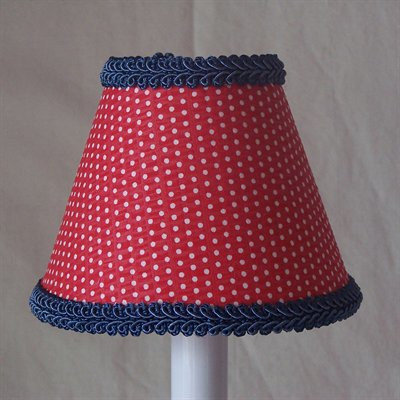 Silly Bear Round-Up Red Table Lamp Shade